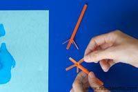 manualidades pajaritos papel