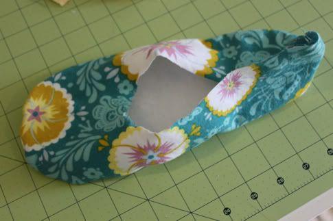 como hacer pantuflas