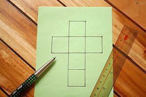 papiroflexia cubo