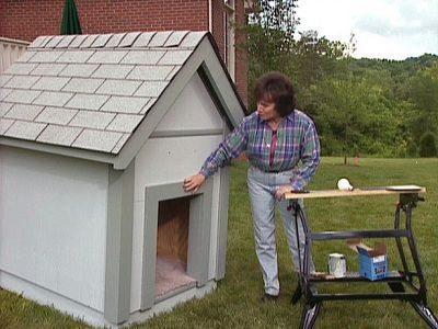 como hacer una casa para perros