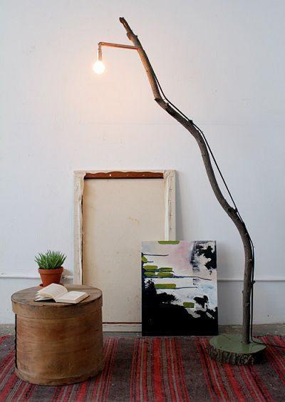 Como hacer una lampara rustica todo manualidades - Como hacer una lampara ...