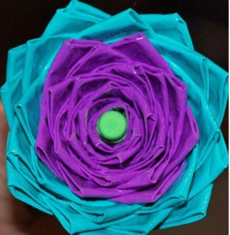 como hacer flores artificiales