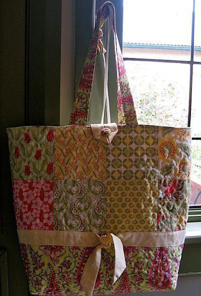 Como hacer una tote bag con patchwork
