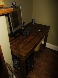 como construir un escritorio