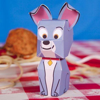 como hacer un perro de papel
