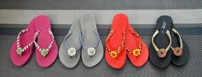 como decorar chanclas