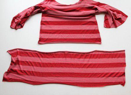 como hacer blusas de moda