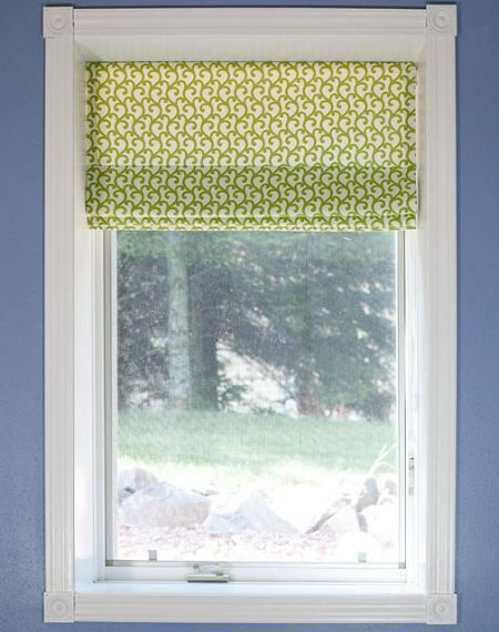 como hacer cortinas romanas paso a paso
