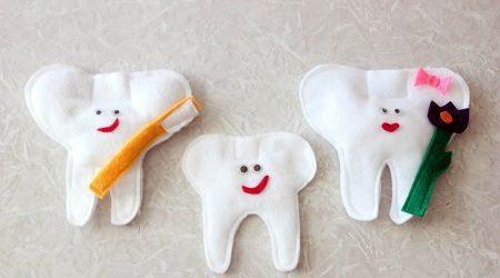 Como hacer dientes de fieltro para jugar todo manualidades for Manualidades con palillos de dientes