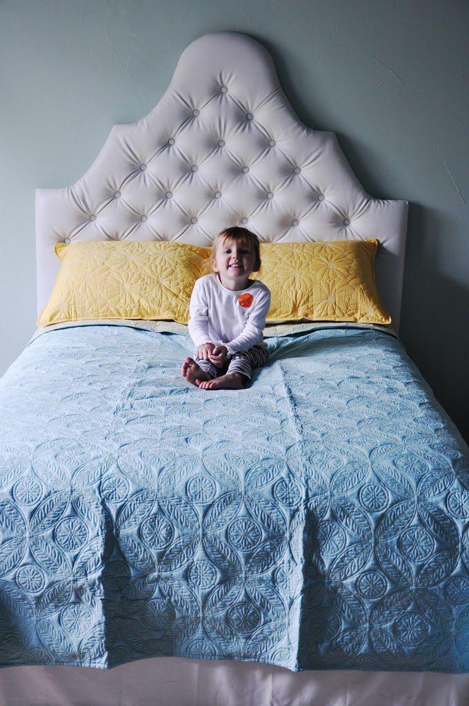 Como hacer un respaldo de sommier tapizado y acolchado - Cabeceras de cama acolchadas ...
