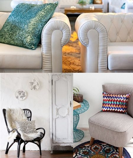 ideas para decorar cojines originales