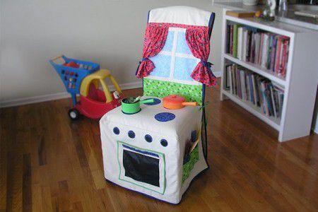 como hacer una cocina para niñas