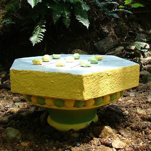Como decorar una mesa de jard n con un ta te ti todo - Como decorar una mesa de jardin ...