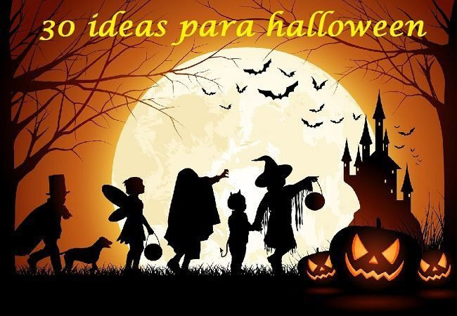 30 ideas y manualidades para hallowen