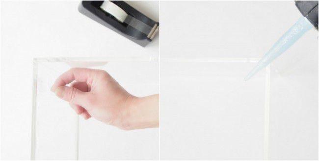Como hacer un macetero de vidrio