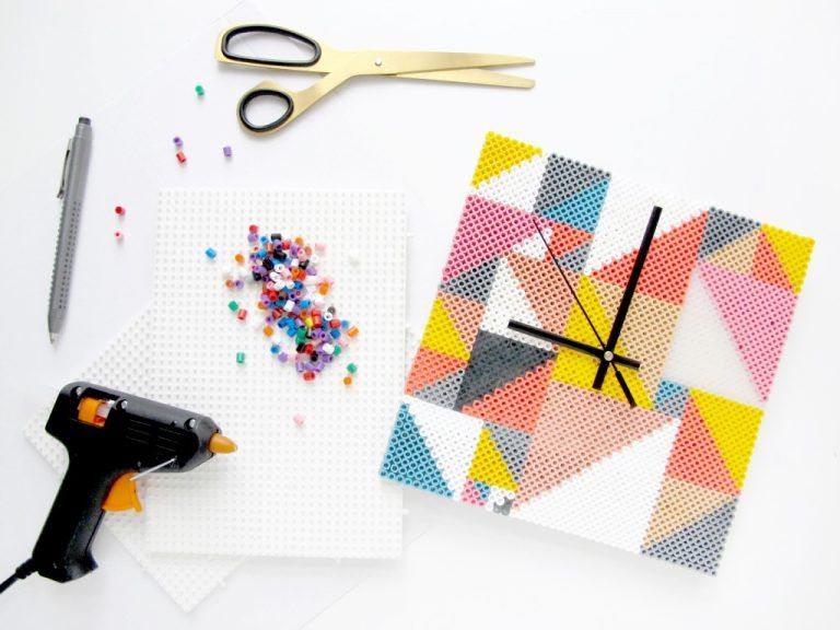 Como hacer un reloj de pared con mostacillas todo - Hacer un reloj de pared ...