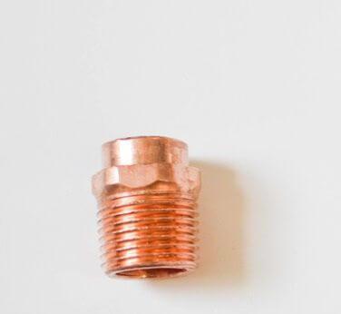 Como hacer una lampara de cobre y madera 6