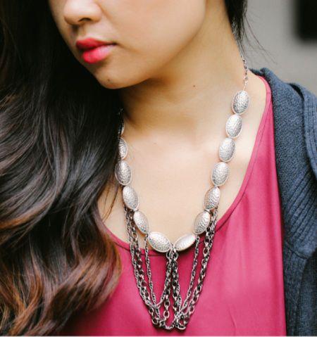 Como hacer un moderno collar