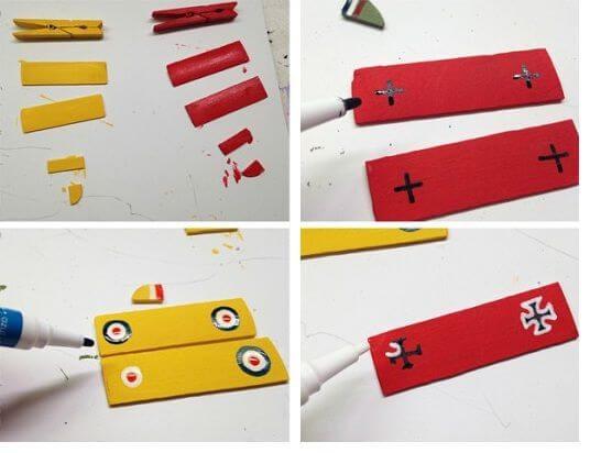 Como hacer avioncitos de madera 2